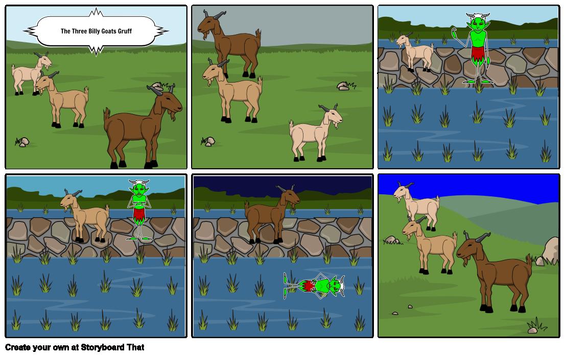 Three Billy Goats Gruff PNG - 65705