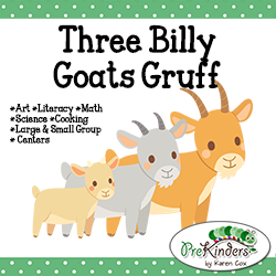 Billy Goats Gruff: Preschool Pack PlusPng.com  - Three Billy Goats Gruff PNG