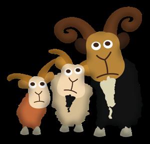 Three Billy Goats Gruff PNG - 65690