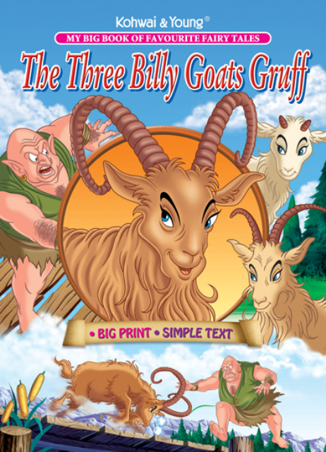 The Three Billy Goats Gruff - Three Billy Goats PNG