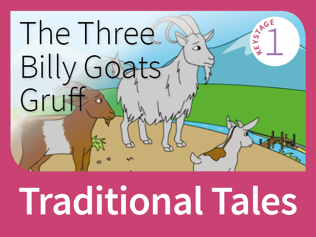 Three Billy Goats Gruff - Underdog Tales (Traditional Tales) by  tesTopicPacks-KS1 - Teaching Resources - Tes - Three Billy Goats PNG