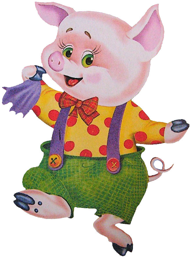 Three Little Pigs PNG HD - 146228