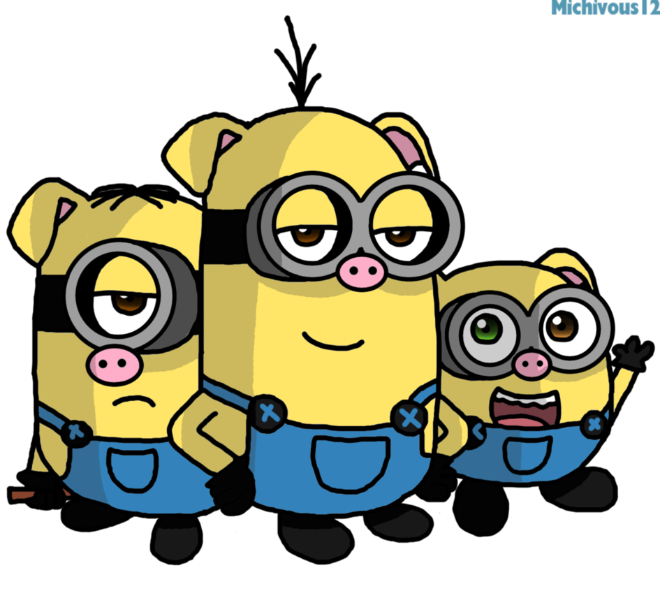 Three Little Pigs PNG HD - 146227