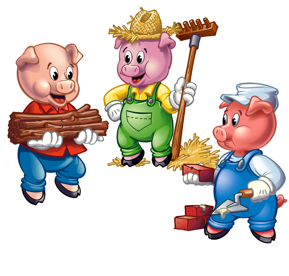 Three Little Pigs - Three Little Pigs PNG HD