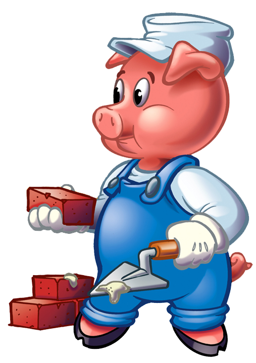Three Little Pigs Clip Art Cliparts Co - Three Little Pigs PNG HD