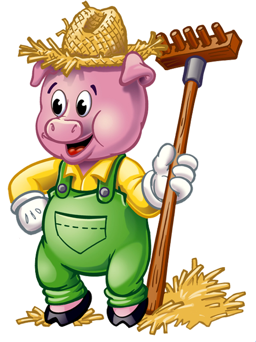 Three Little Pigs Clipart - Three Little Pigs PNG HD