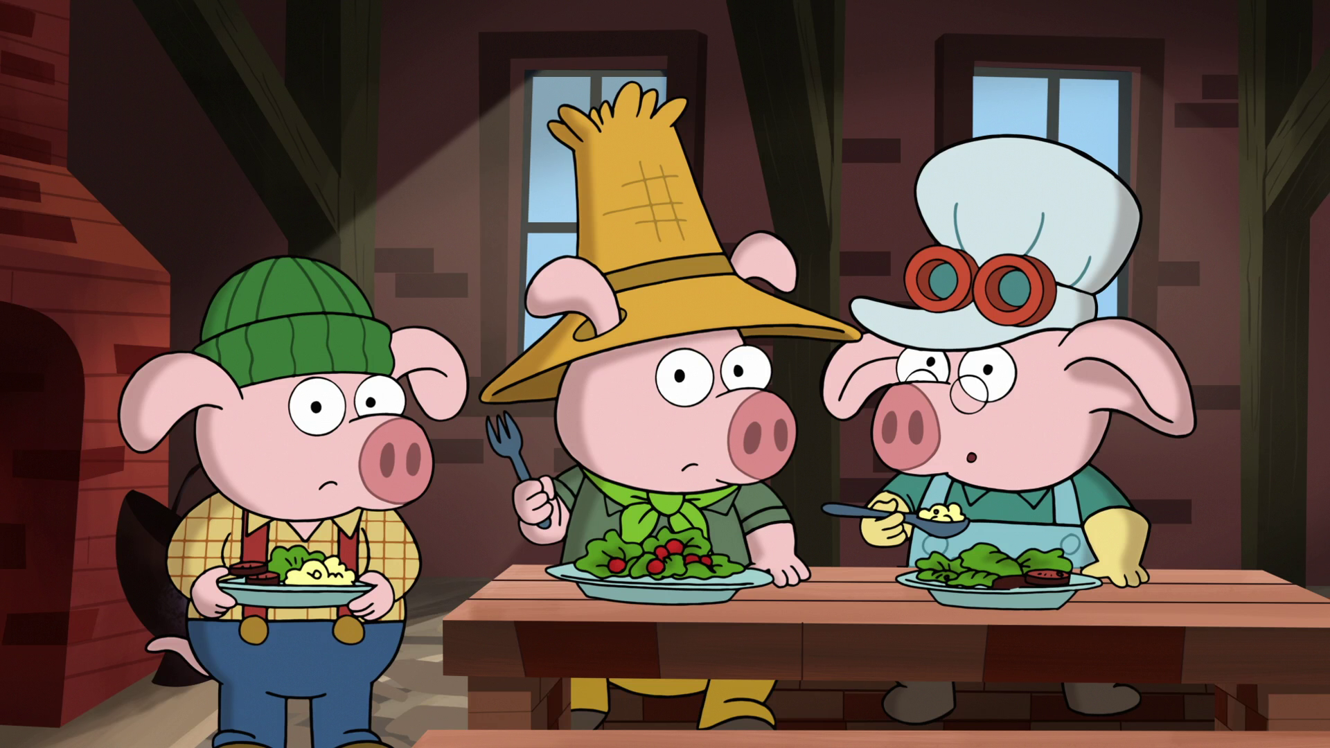 Three Little Pigs PNG HD - 146223