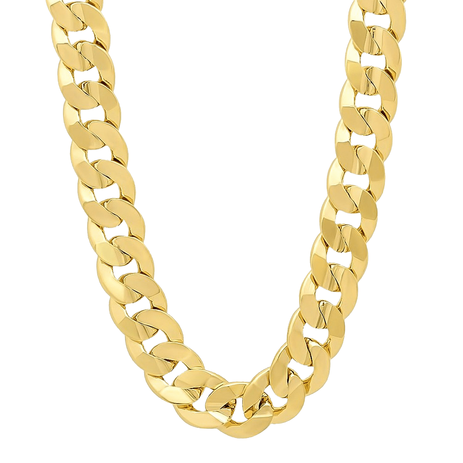 Thug Life Heavy Gold Chain - Chain PNG