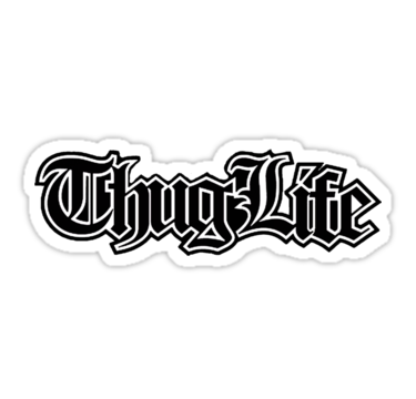 Thug Life 2. By RussellK99 image #545 - Thug PNG