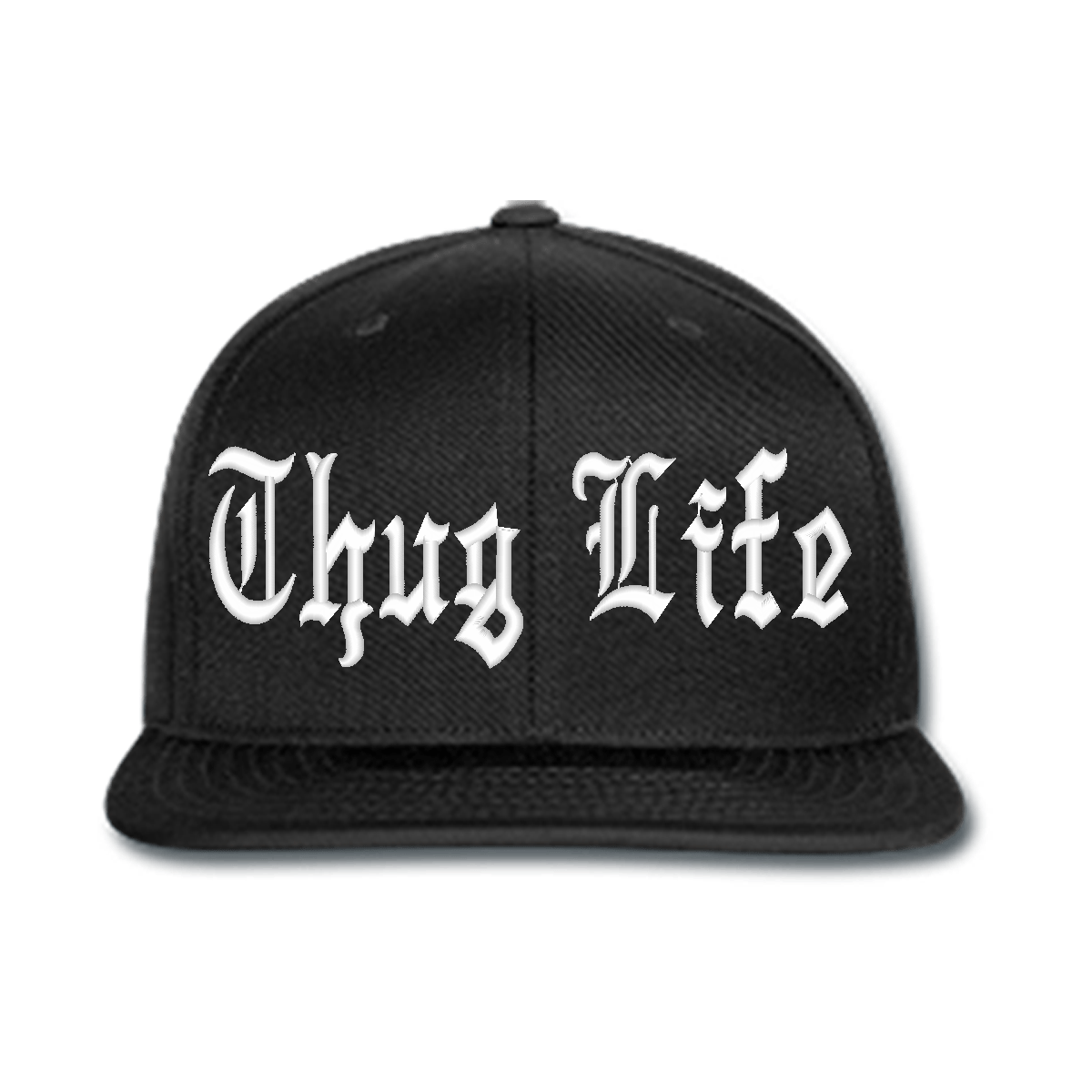 Thug Life Black Cap - Thug PNG