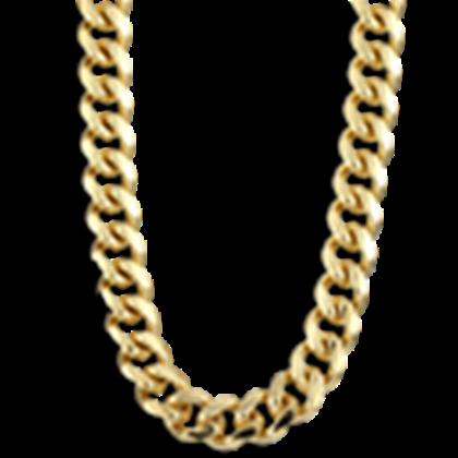 Thug Life Gold Chain - Thug PNG