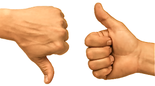 Thumbs Up And Thumbs Down PNG HD - 131480