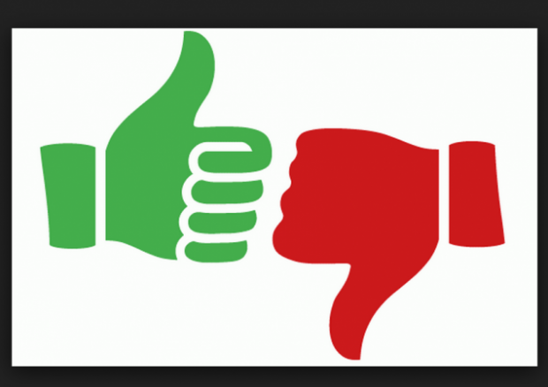 Thumbs Up And Thumbs Down PNG HD - 131487