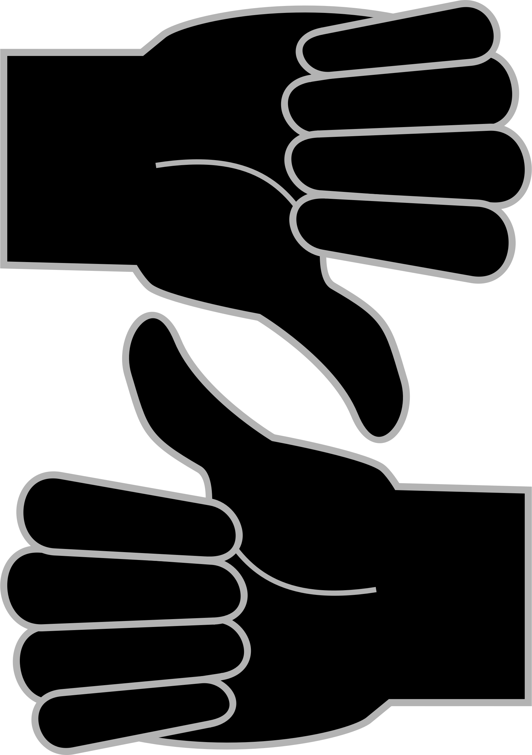 BIG IMAGE (PNG) - Thumbs Up And Thumbs Down PNG HD