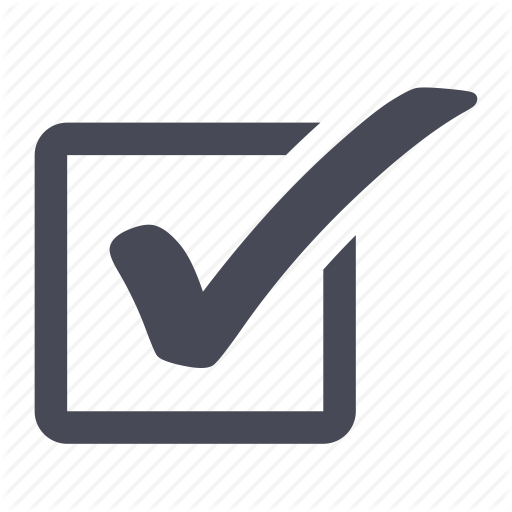 accept, check, checkbox, ok, tick, yes icon - Tick Box PNG