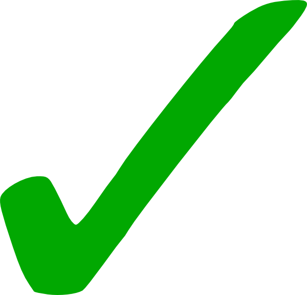 free clipart green check mark - Tick Mark PNG HD