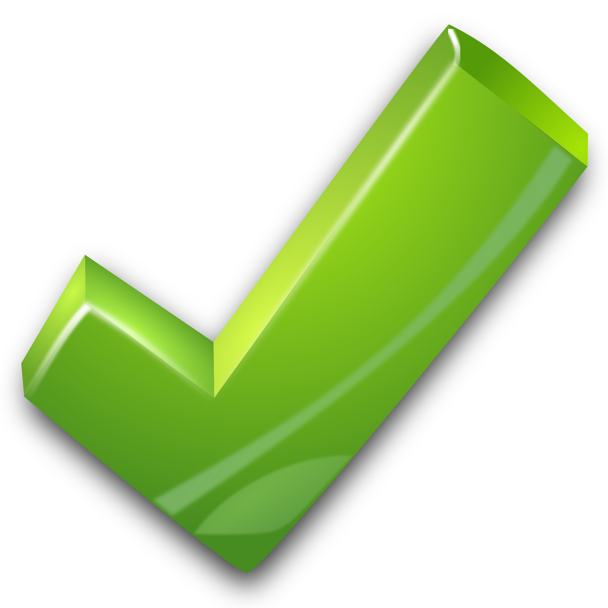 Green Tick PNG Photo - Tick Mark PNG HD