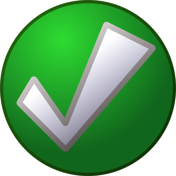 Green Tick PNG Transparent - Tick Mark PNG HD