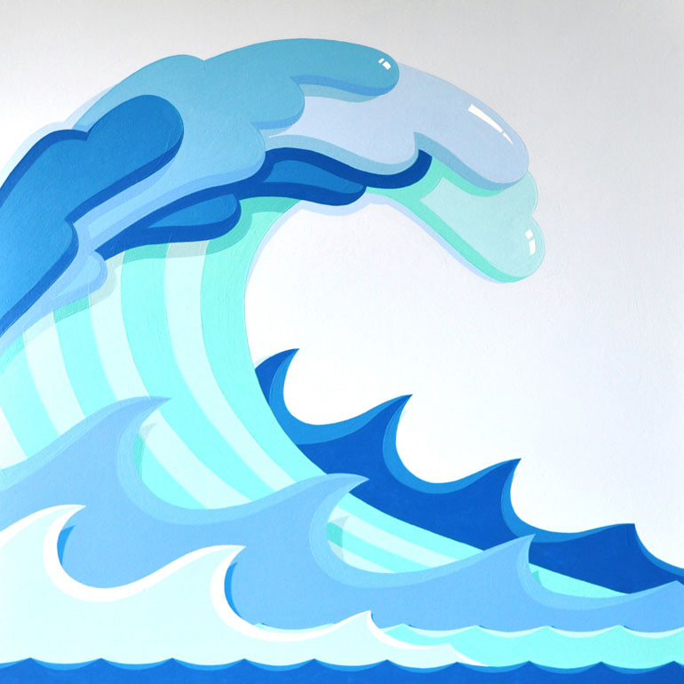 Tidal Wave Clipart - Tidal Wave PNG