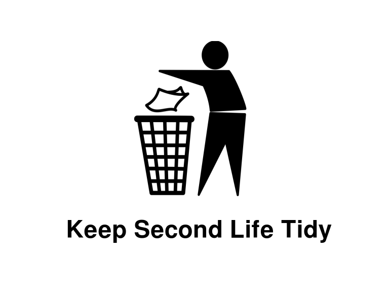Keep second life tidy.png - Tidy PNG