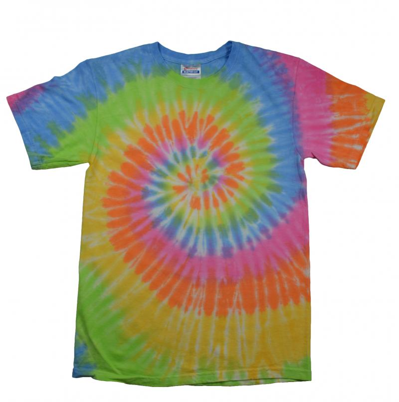 Eternity Tie Dye T-Shirt - Tie Dye PNG