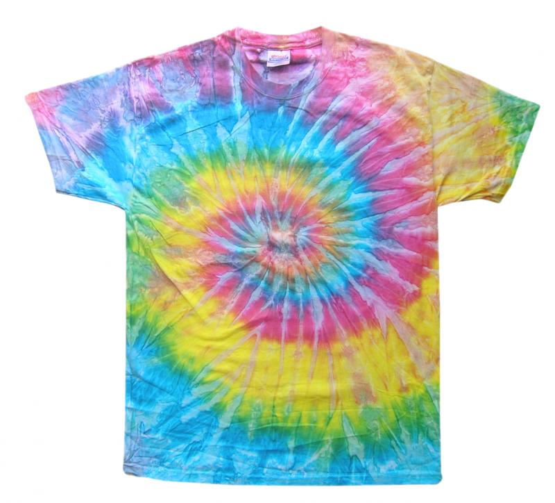 Saturn Tie Dye T-Shirt - Tie Dye PNG
