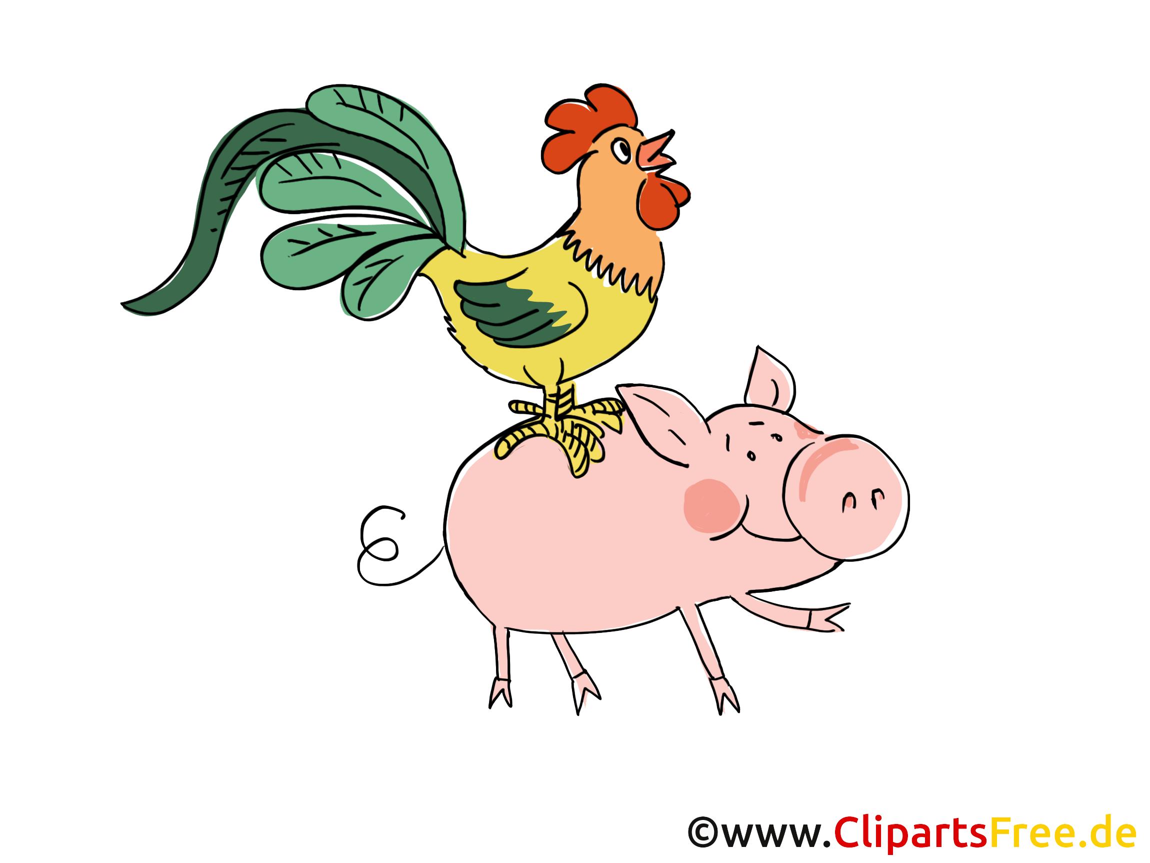 Tiere Auf Dem Bauernhof PNG