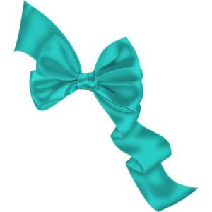 Tiffany Blue Bow PNG - 57386