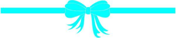 Tiffany Blue Bow PNG - 57383