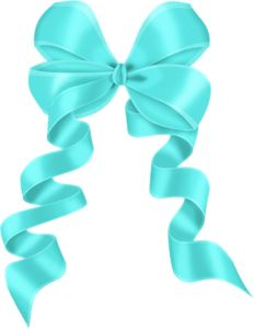 Tiffany Blue Bow PNG - 57390