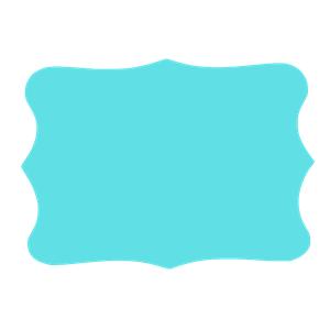Tiffany Blue Frame - Tiffany Blue PNG
