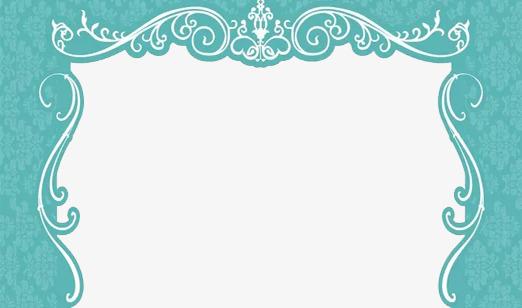 Tiffany Blue Wedding Flower Door Free PNG - Tiffany Blue PNG