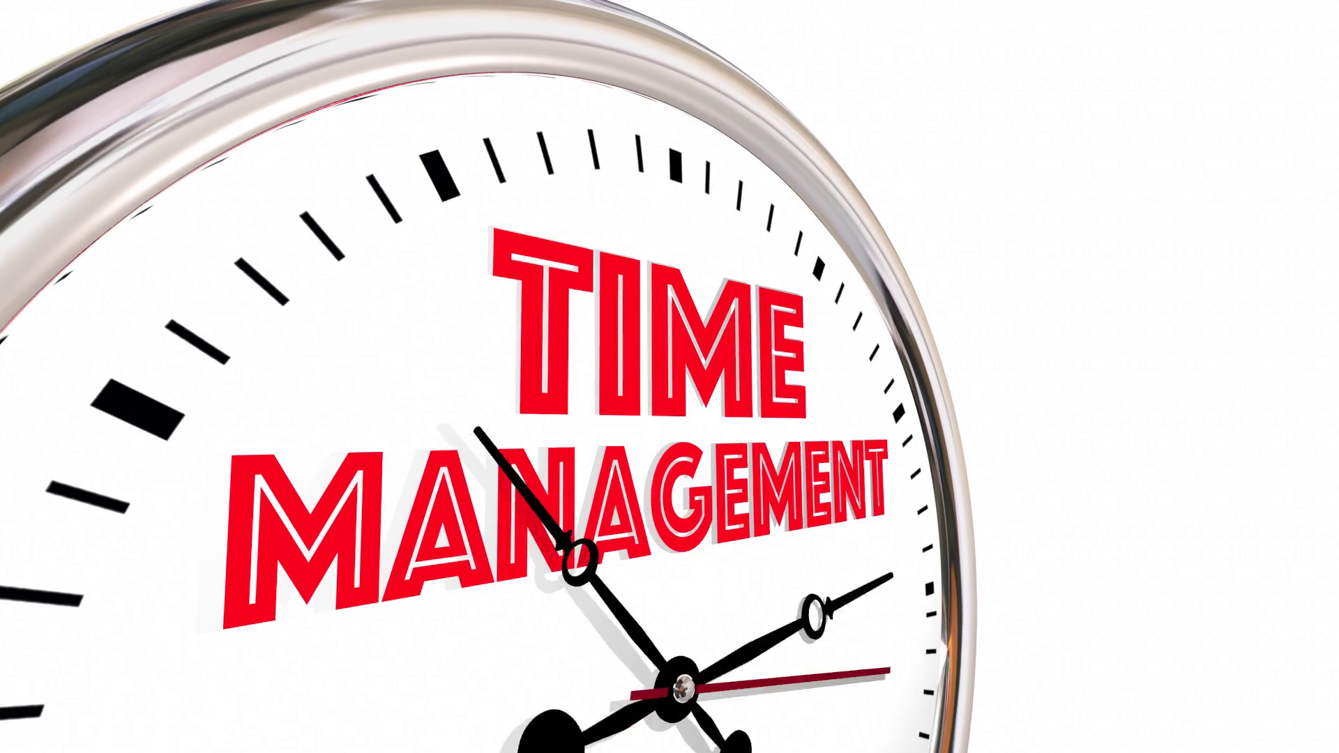 Time Management Efficient Clock Managing Projects 3 D Animation Motion  Background - VideoBlocks - Time Management PNG HD