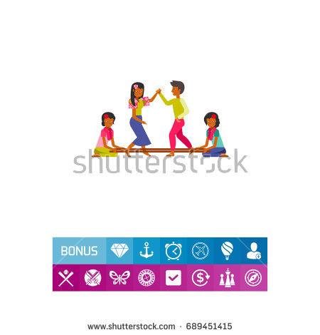 Philippines people dancing tinikling icon - Tinikling PNG