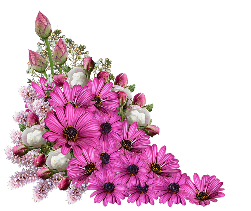 Flowers, Bouquet, Decoration, Composition - Tiny Flowers PNG