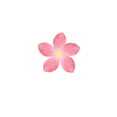 Pink Flower PNG by SashaSonesica PlusPng.com  - Tiny Flowers PNG