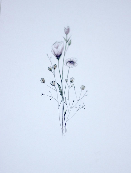 Tiny Flowers PNG - 60139
