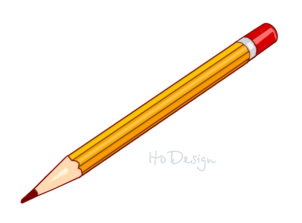 Broken Pencil Clip Art - Tip Of Pencil PNG