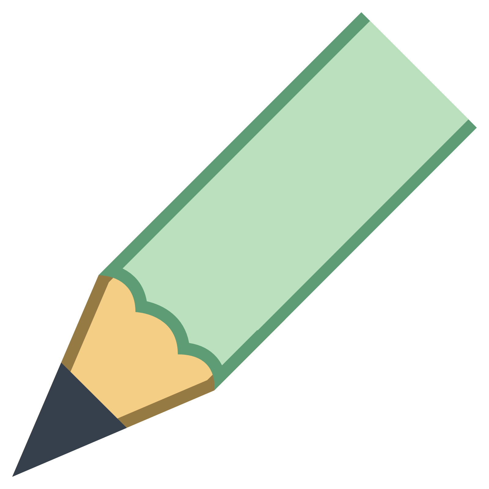 Pencil Tip icon - Tip Of Pencil PNG