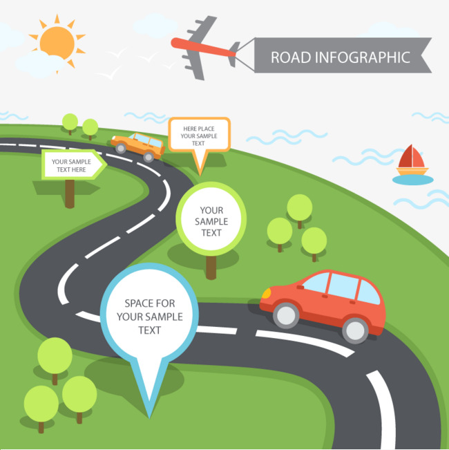 Vector road Tips, HD, Vector, Navigation Free PNG and Vector - Tips HD PNG