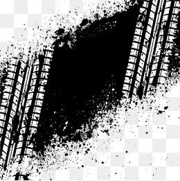 Tire Track PNG HD - 128513