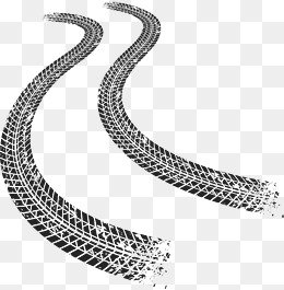 Tire Track PNG HD - 128504