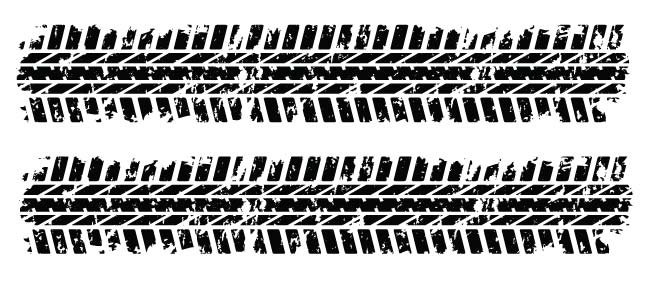 Tire Track PNG HD - 128511