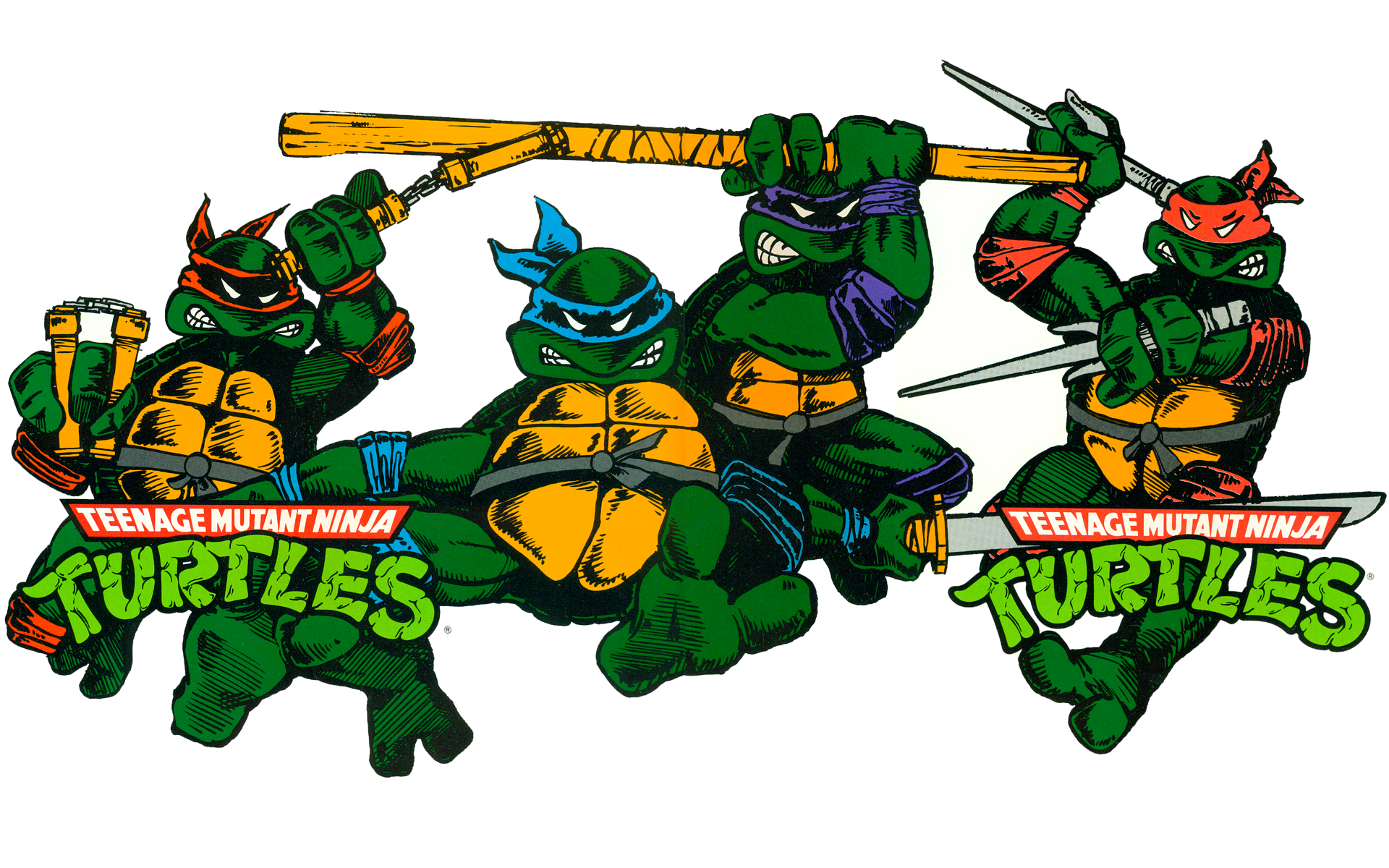 Ninja Turtles Page 2 - Teenag