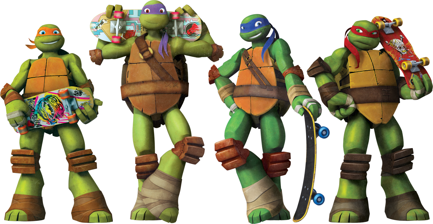 There PlusPng.com  - Tmnt HD PNG