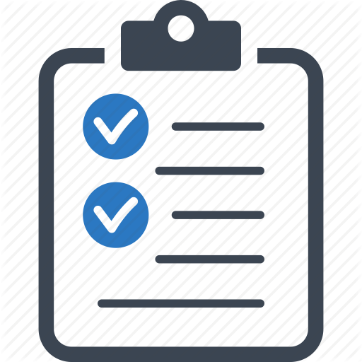 business tasks, check mark, checklist, to do list icon - To Do List PNG