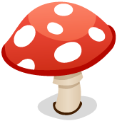 File:Red Toadstool.png - Toadstool PNG HD
