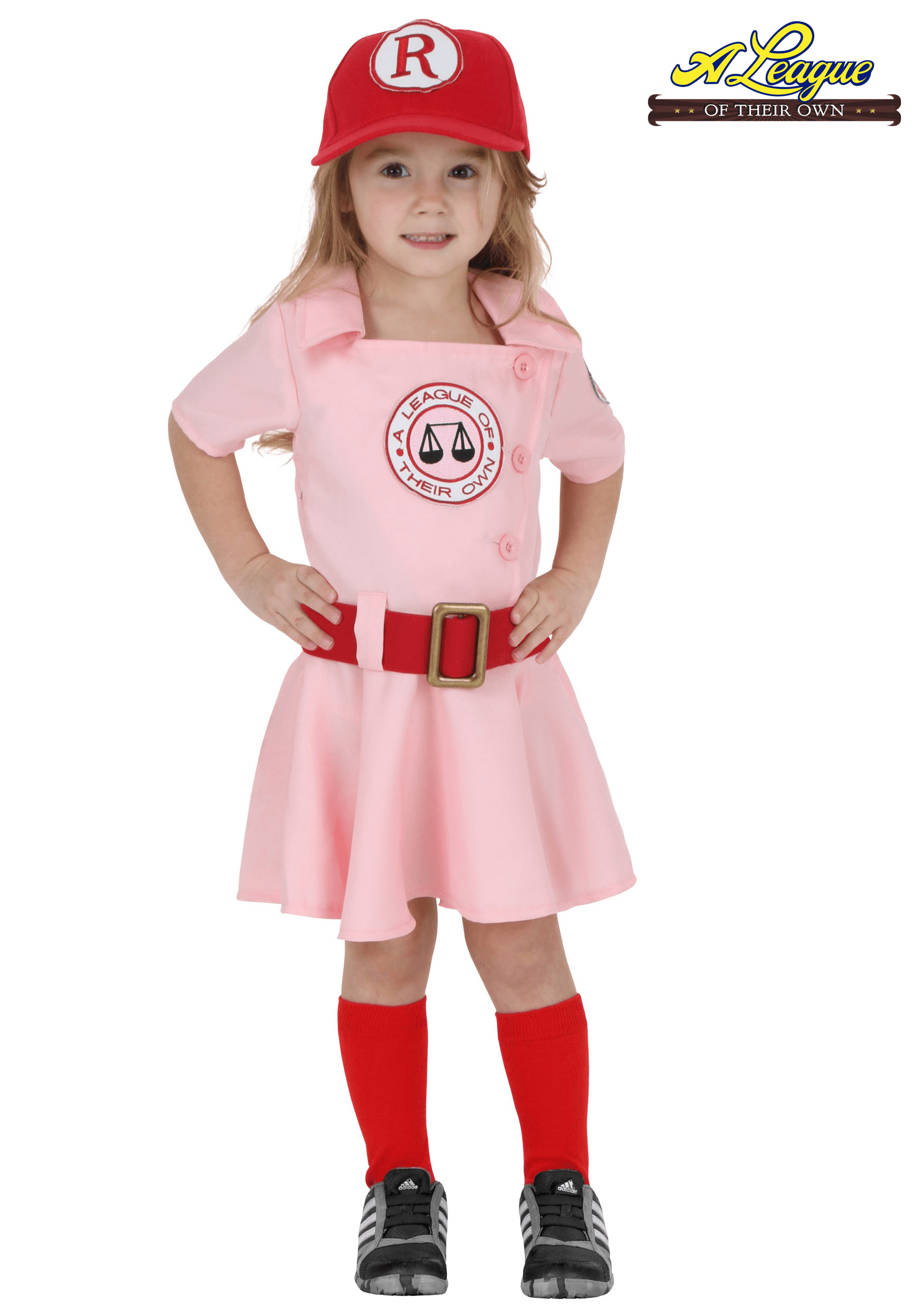 Toddler A League of Their Own Dottie Costume - Toddler Girl PNG