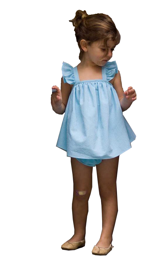 Young girl - Toddler Girl PNG