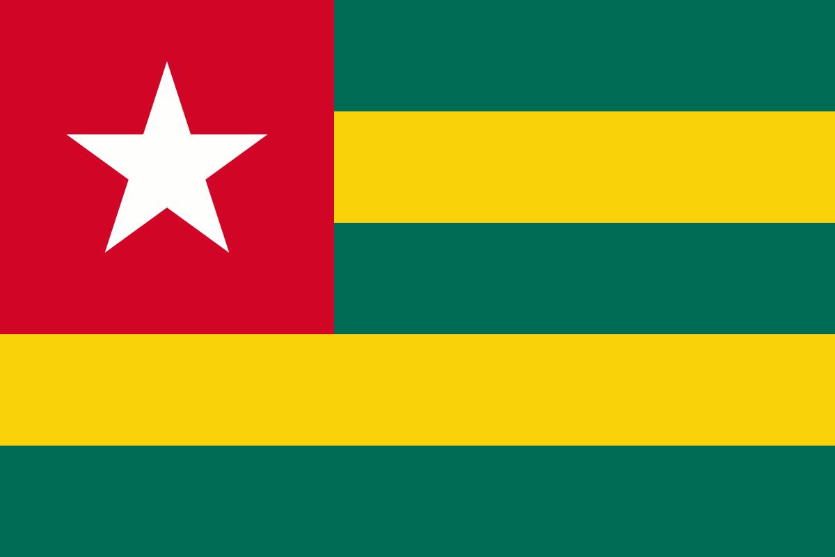 File:Flag of Togo.png - Togo PNG